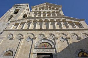 Cagliari Cathedral façade