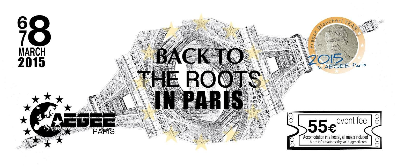Back to the Roots: 30 years of AEGEE-Paris, 30 years of AEGEE-Europe