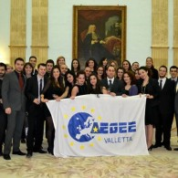 AEGEE-Valletta wins national selection for Charlemagne youth prize 2014