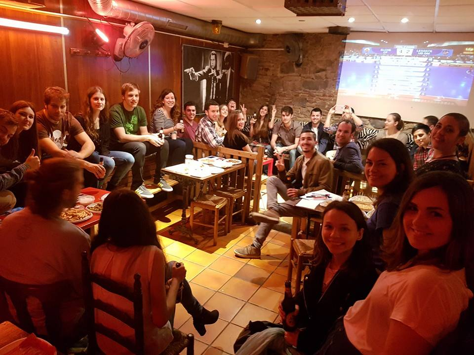 "ACTive Local of the Month of April AEGEE-Barcelona ""The Action Agenda and the Strategic Plan are the Reasons Why AEGEE Exist. We are Involved in This Organisation for Building a Better Europe, and We Already Have Those Guidelines to Do It"""