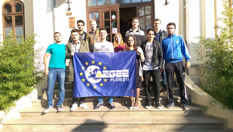"""AEGEE-Ploieşti, Local of the Month of September: """"Dare to Think Big"""""""