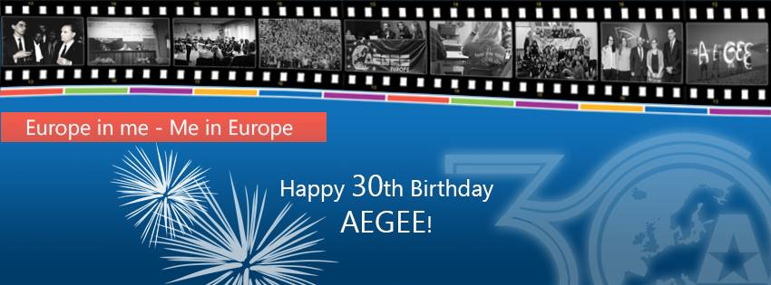30 Years of Success and Developement – AEGEE 30th Anniversary