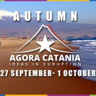 Agora Catania will take place in a land of passion and creativity.