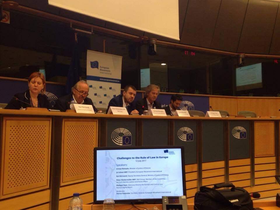 Is the Rule of Law in Europe at Stake? A Report from Brussels