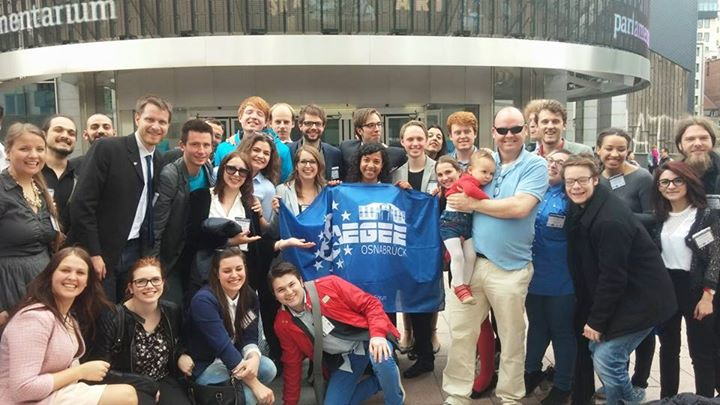 Main Conference for 30 Years of AEGEE-Europe In Brussels