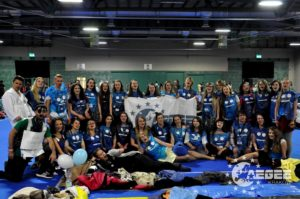 40 AEGEE-Kraków members on Spring Agora Bergamo 2016 - the biggest delegation of all the locals.