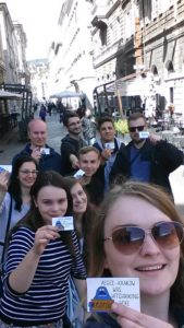 AEGEE-Kraków loves hitchhiking! This time 21 members used this way of transportation to reach Triest in Italy.