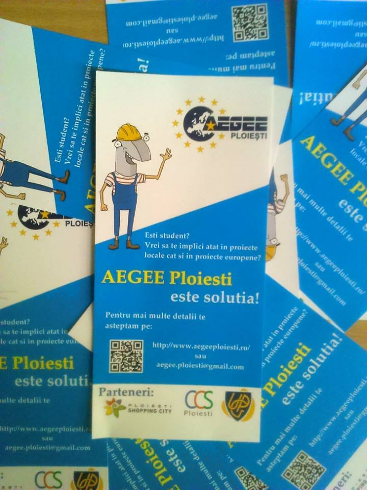 "ACTive Local of the Month of October AEGEE-Ploiești: ""We Have to Work Together to Create a Better Society!"""