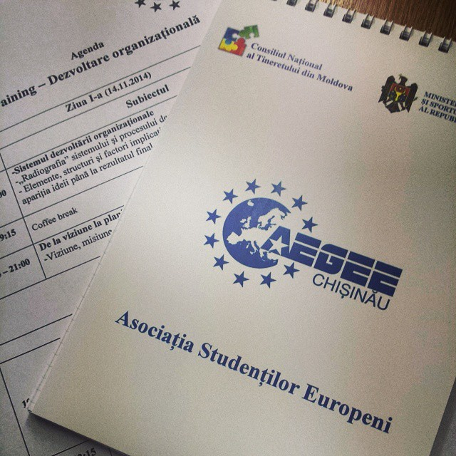 """Local of the Month AEGEE-Chișinău: """"When you have a great desire, everything is possible!"""""""