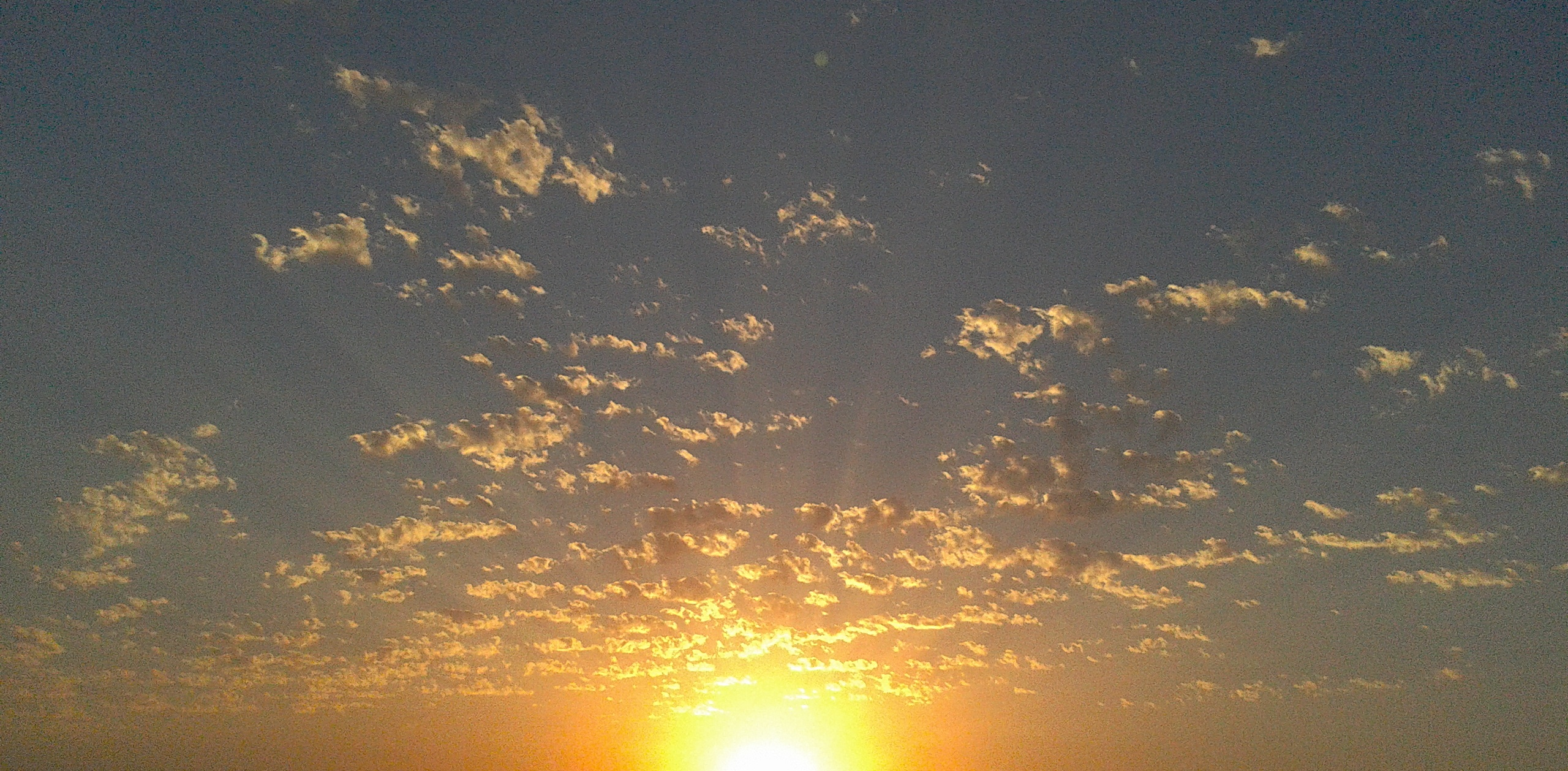 Above us, the same sky
