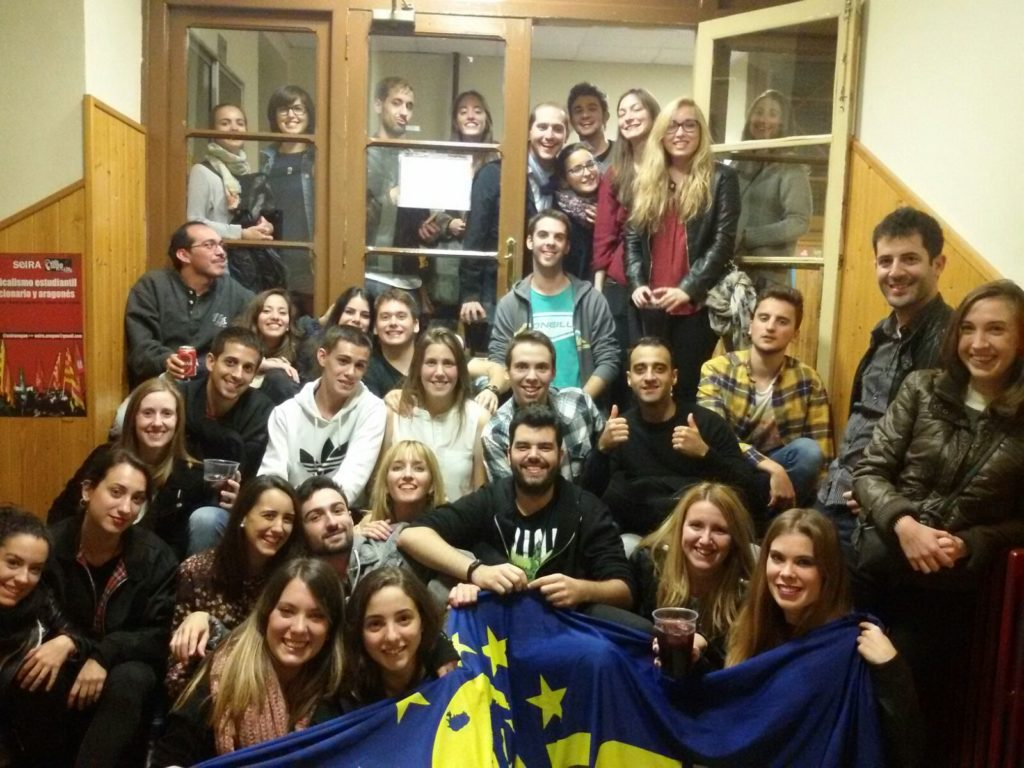 Active members of AEGEE-Zaragoza