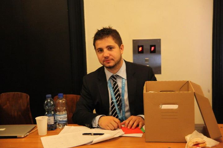 Member of the Month Alin-Florin Calin combines all his interests on the European level of AEGEE