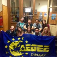 "ACTive Local of the Month of February AEGEE-Zaragoza: ""We Strongly Think that AEGEE Members Are Active People Who Are Involved in What Is Happening in the World"""