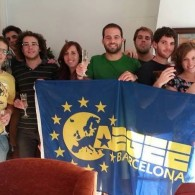 AEGEEans and friends learning about fundraising with AEGEE-Barcelona