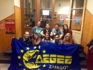 Board of AEGEE Zaragoza