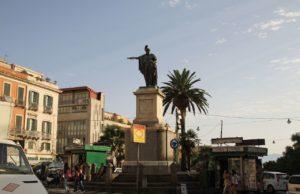 Carlo Felice statue in Piazza Yenne