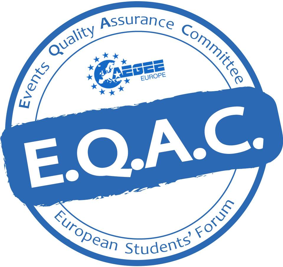 The recipe for a quality event: EQAC!