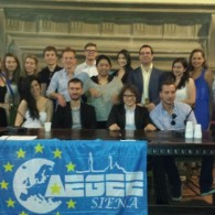 Under the Tuscan sun: friends from AEGEE-Budapest and AEGEE-Siena together