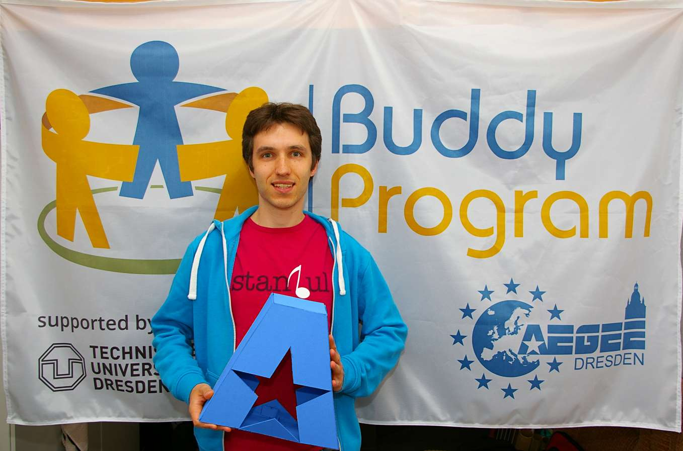 Still New, But Already Successful: Contact Antenna AEGEE-Dresden and Their Buddy Program