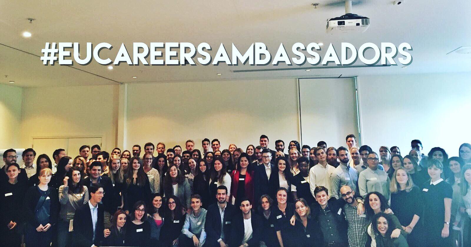 Become an EU Careers Student Ambassador and Step up Your Game!
