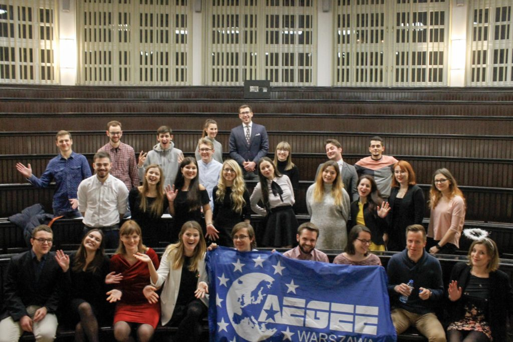 "ACTive Local of November - AEGEE-Warszawa: ""Organising local thematic activities is a great way to develop members' leadership skills and contribute to the AEGEE's vision"