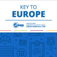 Key to Europe, Members' Key to The Past Year of AEGEE