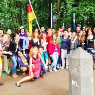 "Eins, Drei, Zwei! – SU ""Get trashed the green way!"" by AEGEE-Aachen"