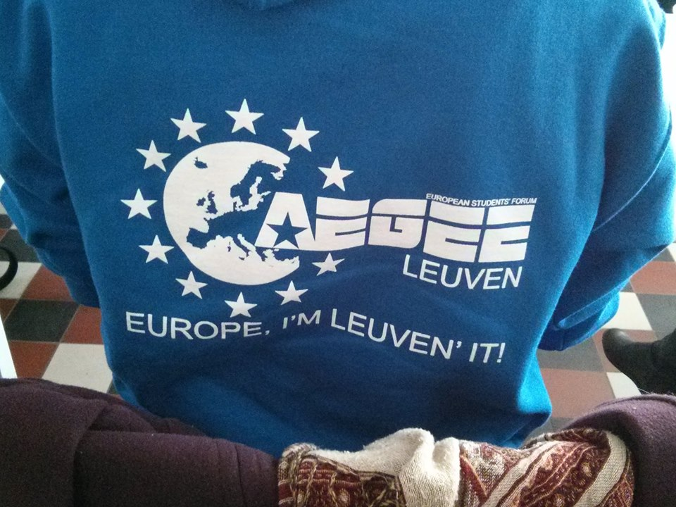 """AEGEE-Leuven, Local of the Month of March: """"Good teamwork and knowing each other's strengths is our advantage"""""""