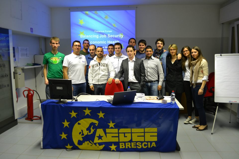 "Local of the Month: AEGEE-Brescia and their ""European Talks"""
