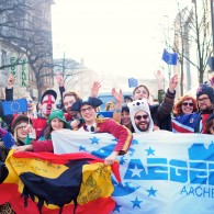 AEGEE-Aachen's Colourful Participation in Their City's Carnival Parade