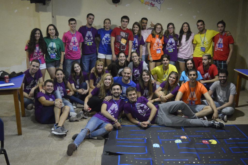 Participants from AEGEE-Zaragoza - RENOVE VI