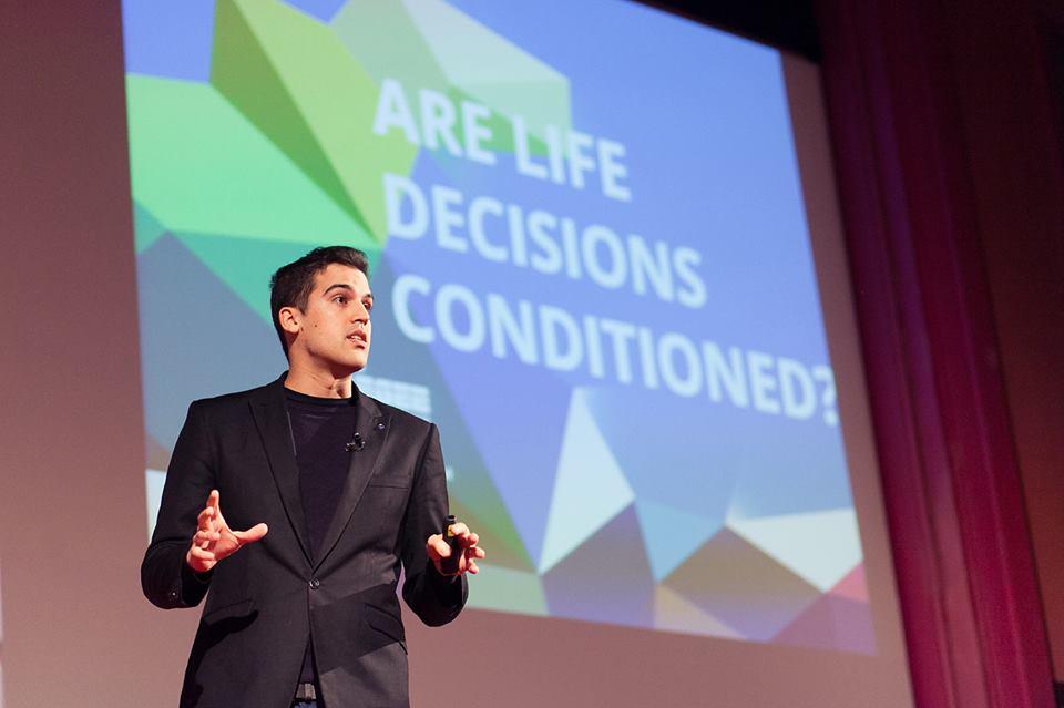 Luis Alvarado Martinez is the Young European of the Year 2014