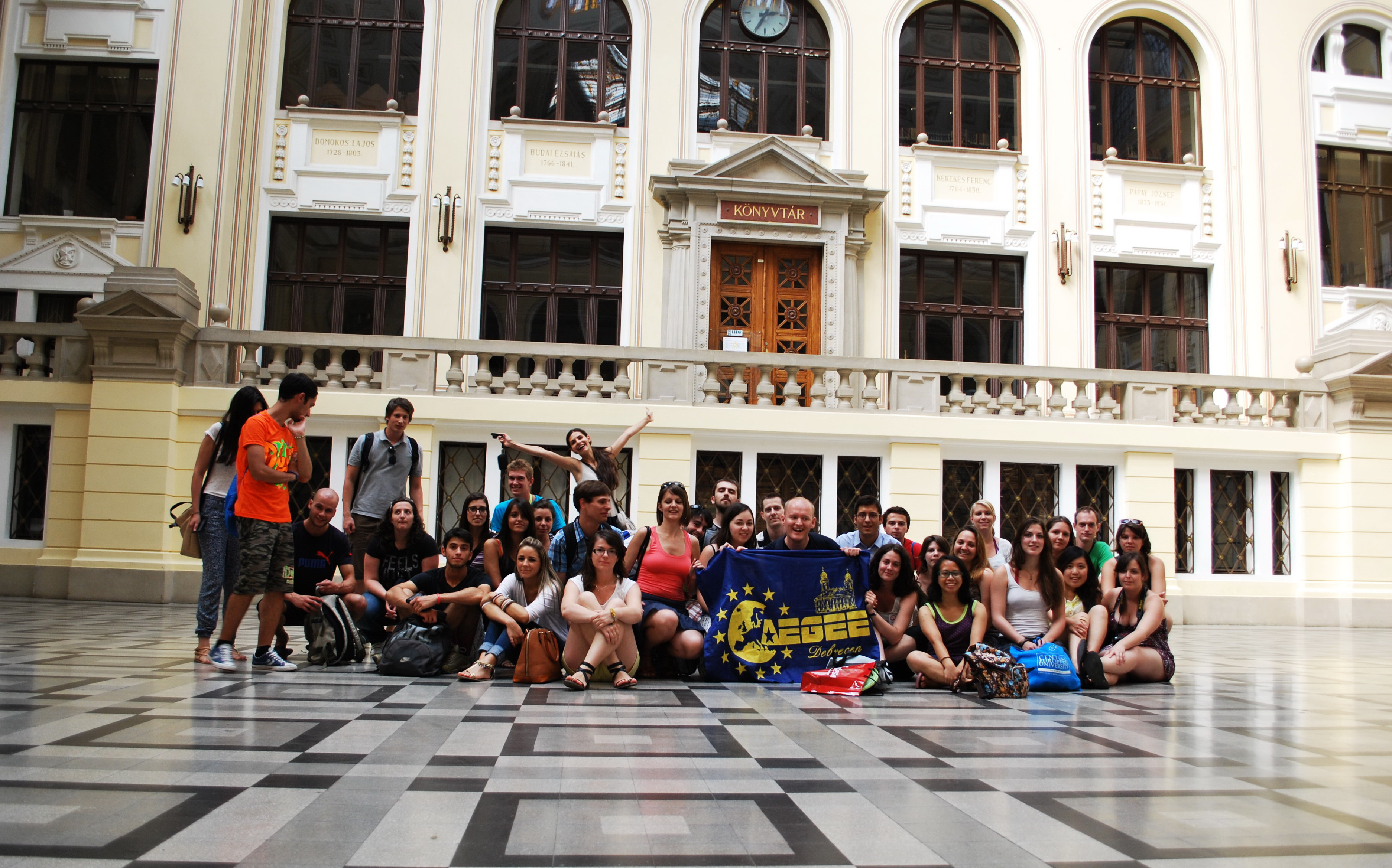 TSU by AEGEE-Debrecen & AEGEE-Sibiu (6) – At the University of Debrecen