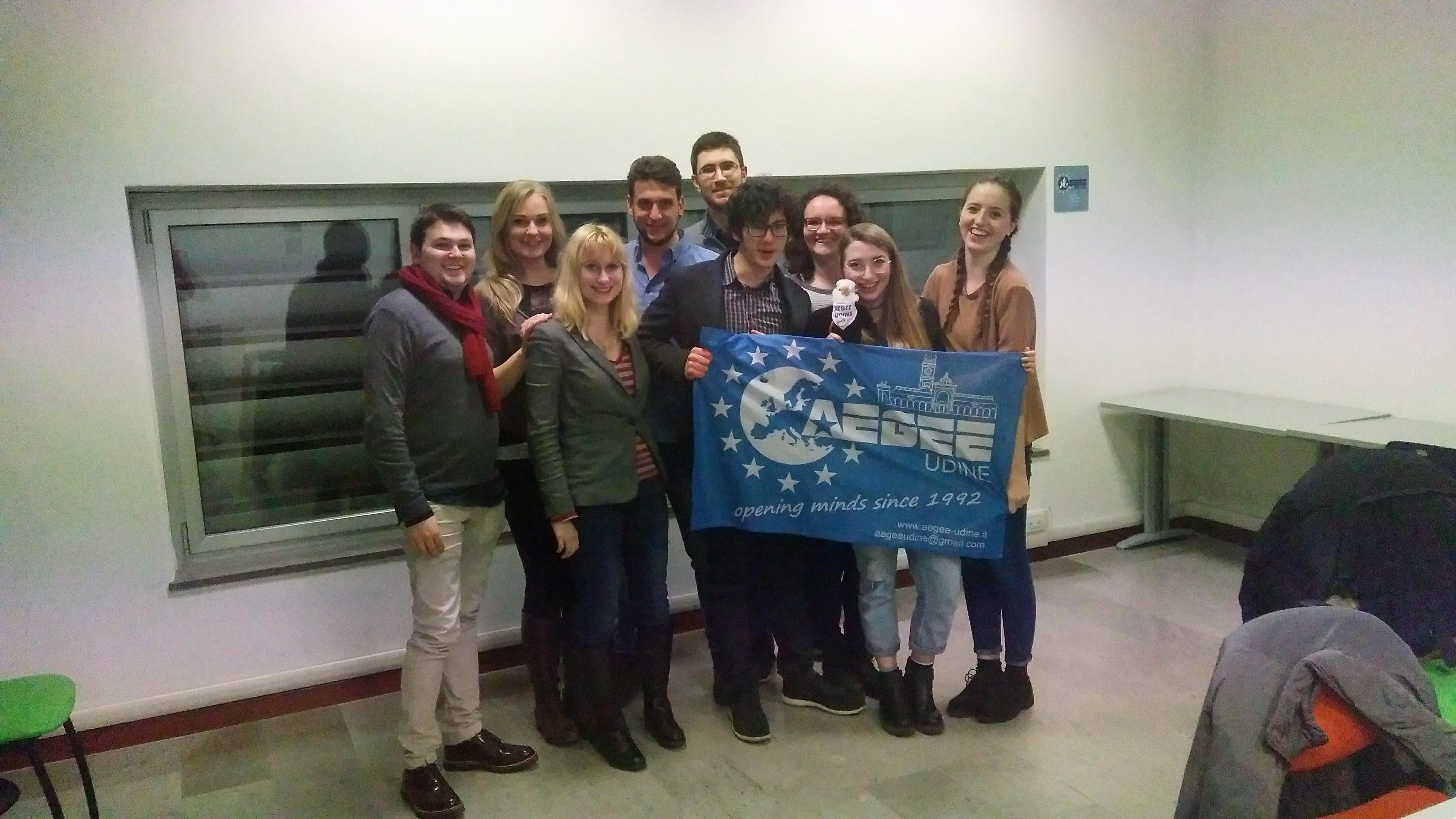 CD on Track: Udine, Last Stop in Italy