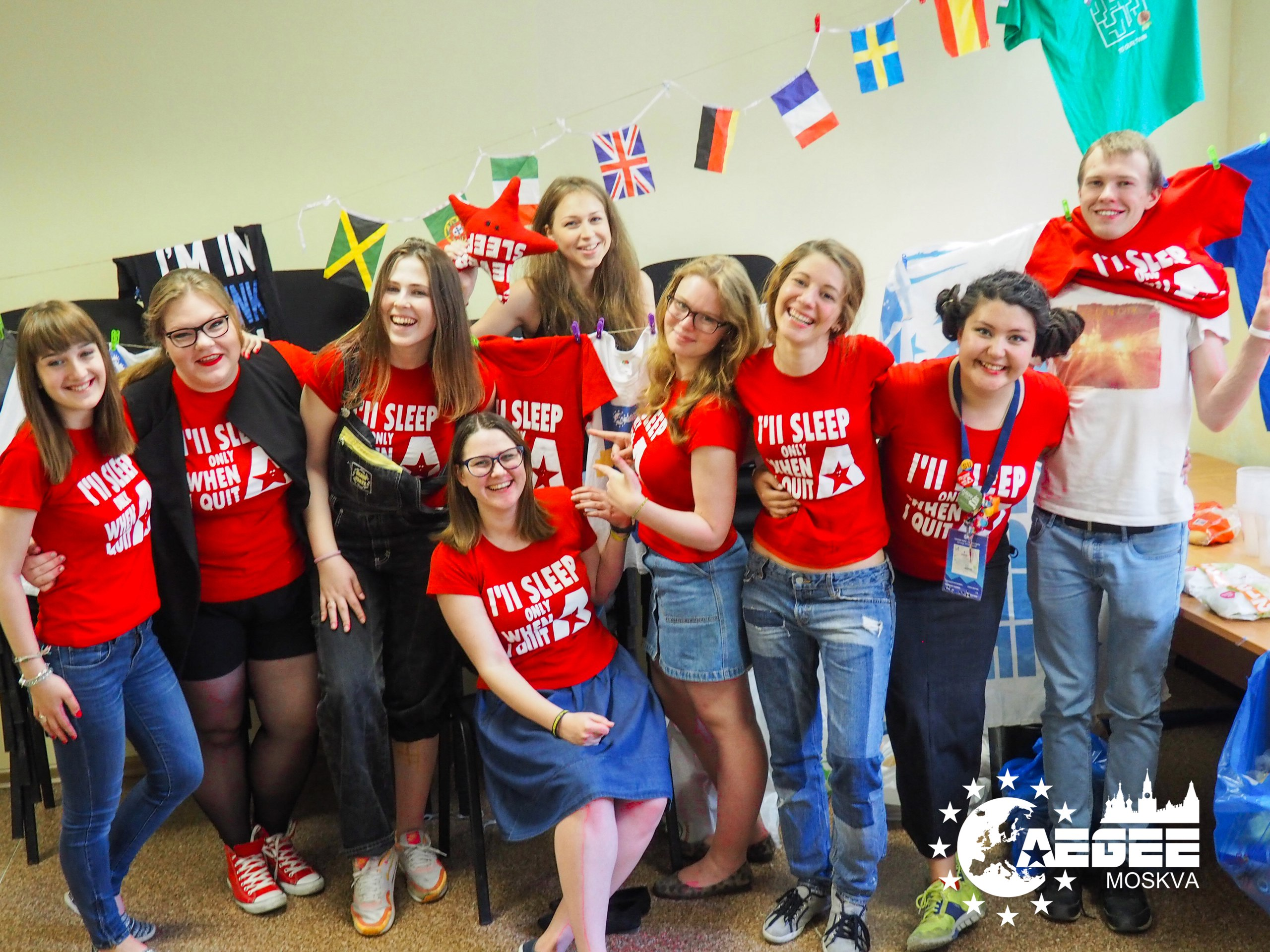"""ACTive Local of the Month of June AEGEE-Moskva """"We Need to Act Together in Order to Have Visible Impact"""""""