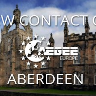 AEGEE Goes to Scotland with a New Contact in Aberdeen
