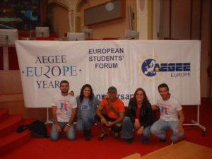 aegee20bayragı-türk yunan kardeşliği!