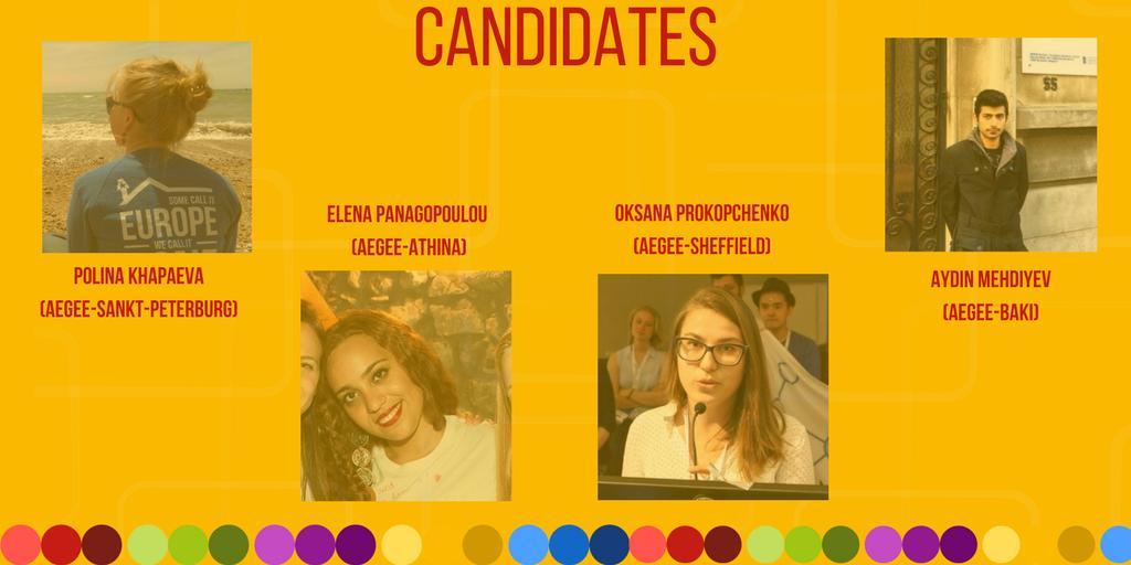 Today's interviews: Aydin Mehdiyev, Elena Panagopoulou, Oksana Prokopchenko, Polina Khapaeva